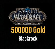 500000 World of Warcraft Gold - 500K WOW GOLD - WoW Gold Server Blackrock