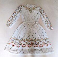 Robe OP Lolita Otome Axe liza floral cream beige Princess Hime Baroque Classic