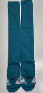 """Nike Jacksonville Jaguars NFL Team Issued Football 14"""" Leg Calf Socks Size XL"""