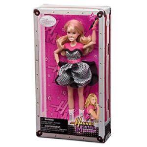 "HANNAH MONTANA the Movie~10""~Classic~Doll + Microphone ~Disney Store~NIB~2010"