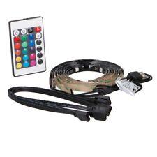 DÉLUXA USB LED TV Streifen Set mit RGB Farbwechsel Leiste Stripe Beleuchtung