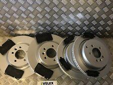 Range rover sport 2.7 TDV6 05-09 avant 2 disques de frein /& plaquettes capteur carreaux taille