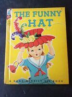 VINTAGE THE FUNNY HAT- RAND MCNALLY ELF BOOK 1959