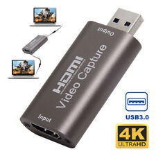 HDMI Video Capture Card Usb3.0 1080p HD Recordervideo Live Streaming Game
