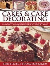 CAKES & CAKE DECORATING - NEW HARDCOVER BOOK