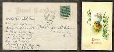 3436 - TROUT MILLS Ontario Nipissing 1913 Broken Circle on Postcard