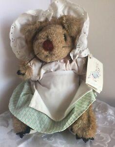 "Vintage Peter Rabbit ""Mrs Tiggy Winkle Hedgehog"" Beatrix Potter By Eden NWT"