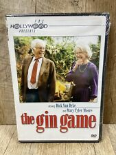 The Gin Game (DVD, 2003) Dick Van Dyke, Mary Tyler Moore NEW SEALED