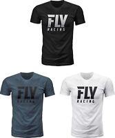 Fly Racing Logo T-Shirt  - Mens Tee