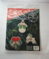 Christmas Ornaments Cross Stitch Kit Banar Designs Makes 6  Perforated Paper NEW