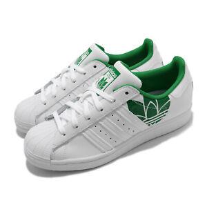 adidas Originals Superstar Trefoil Print White Green Men Women Unisex FY2827