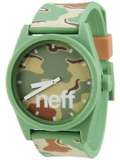 "NEFF ""DAILY"" WATCH (CAMO) NEW (846490025471) - FREE SHIPPING -"