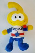 SNORKS Applause 1983 CARTOON Yellow Plush Doll VINTAGE 80s TOYS