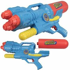 2 x 30cm Handheld Pump Action Water Gun Pistol Super Spray Soakers Toys 927