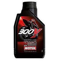 104118- 1 LT OLIO MOTORE MOTUL 300 V 10W40 10/40 100% SINTETICO 4T FACTORY LINE