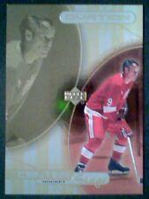 GORDIE HOWE  99/00 CENTER STAGE '68-69 HOCKEY INSERT GOLD FOIL CARD  SP