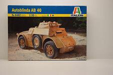 CHAR AUTOBLINDA AB 40 ITALERI 1/35 NEUF EN BOITE