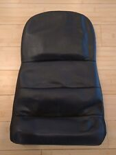 C6 CORVETTTE OEM BLACK SEAT COVER BACK CENTER SECTION EXCELLENT CONDITION ! ! !