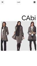 Cabi Jacket 6 Shakespeare Swing Coat Viscose Wool Blend Style 169