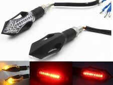 1 Pair LED Turn Signal Indicator Brake Stop Running Tail Light For Honda Triumph
