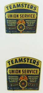 Replacement Teamsters water slide decal  for Smith Miller cab door 1.4 by 1.2
