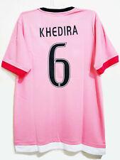 Juventus Away 2015-2016 Men Soccer Jersey #6 KHEDIRA SIze Large