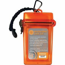 Ultimate Survival Technologies Watertight Container 2.0 Orange Tinder/Match Case