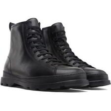 Camper K300245-004 Brutus Mens Black Leather Military Ankle Boots Size 8-12