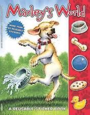 NEW Marley: Marley's World Reusable Sticker Book by John Grogan
