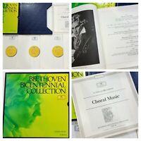 BEETHOVEN BICENTENNIAL COLLECTION  Vol. VI (5 LPs) Record 33 rpm Vinyl RARE