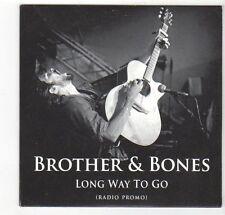 (EZ472) Brother & Bones, Long Way To Go - 2013 DJ CD