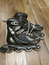 Bladerunner Pro 80 size 8 Usa Abec 5 Color Blue Great Usable Condition