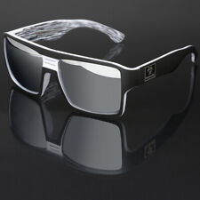Oversized Square Thick Bold Frame Men Women Sports Mirrored Sunglasses Flat Top