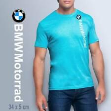 Camiseta hombre moto BMW Motorrad manga corta cuello redondo algodón T-shirt