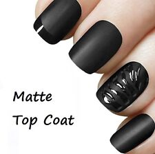 Matte Top Coat Transparent Frosted Nail Varnish Nail Art SM