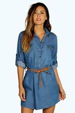 Boohoo Cotton Shirt Dresses