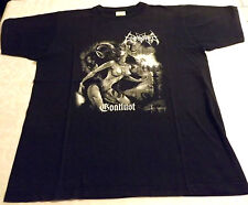 ENTHRONED BOOTLUST Vintage T-Shirt XL - DARK FUNERAL Mayhem Gorgoroth Immortal