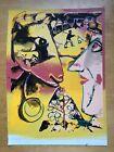 "Painting-Ringo (Steve Kaufman Protege),""Chagall"" Signed- Steve Kaufman and Ringo"