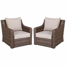 Better Homes & Gardens Hawthorne Park Outdoor Wicker Lounge Chair - Set of 2
