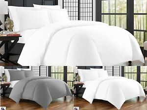 Duvet Cover Bed Set 400 Thread Count 100% Egyptian Cotton Hotel Quality Bedding