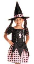 Girls Size 4-6 Pretty & Proper * Pink Witch * Costume Nwt / Nip Kitty Cat Plaid