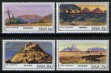 South West Africa 1982, Landscapes set VF MNH, Mi 524-527
