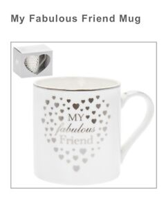 My Fabulous Friend Cup Mug Fine China Mug NEW Boxed Great Special Gift