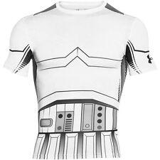 Under Armour Trooper Compression Short Sleeve Shirt 1273450-100 Star Wars Storm