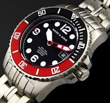 MARC & SONS Professional Automatik Taucheruhr, Diver Watch Herrenuhr - MSD-036