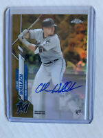Chad Wallach 2020 Topps Chrome Update Autograph Gold RC Refractor Auto /50