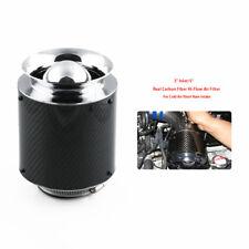 "3"" Inlet /6.89"" Air Filter For Cold Air/Short Ram Intakes Carbon Fiber Hi-Flow"