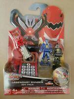 Power Rangers Legendary Key Pack DINO THUNDER Red, Blue & Black Keys