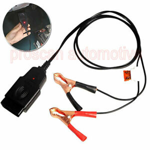 Car Vehicles Memory Saver OBD Battery Replacing Tools 12V Extended Cable Clip