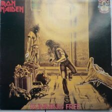 Iron Maiden Lp RUNNING FREE/SANCTUARY double Vinyl  RARE